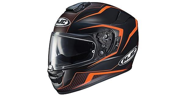 HJC Helmets 1610-774 Black//Orange Large Rpha-ST Dabin Helmet