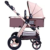 Anna Baby Stroller Travel System Baby Stroller High Landscape Baby Carriage Can Lie