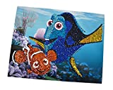 Disney 109443948 - Finding Dory Light Sequin Fun, Mehrfarbig