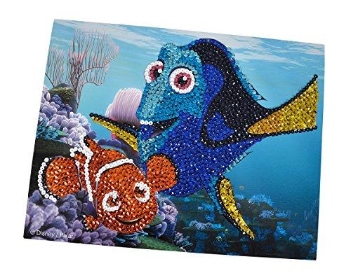 Simba 109443948 - Juego de Manualidades con Lentejuelas Disney