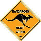 Ximai Plaque de Rue Kangourou Aimants Frigo Magnet Aimant de R/éfrig/érateur Tourisme Australie
