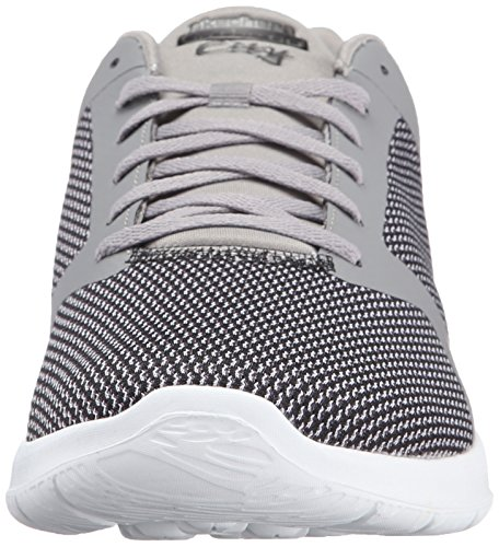 Skechers On-The-Go CityEcho, Baskets Basses Homme Gris - Grau (GRY)