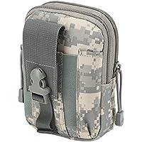 ROKOO Millitary Tactical Gürteltasche 5,6 Zoll Telefon Fall Tasche Casual Pack für Outdoor-Sport Camping Wandern preisvergleich bei billige-tabletten.eu