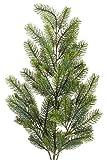 Tannenzweig grün L: ca. 90cm, Kunststoff