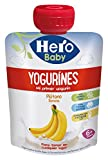 Hero Baby Bolsita Yogurines Plátano - 80 gr - [Pack de 18]
