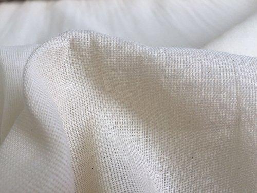 Musselin-Stoff,100 % Baumwolle, feines Käse-Tuch zum Schneidern von Kleidung und Gardinen, 160cm...