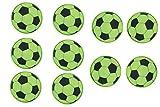 10 Stück Fußball Reflektor Sticker