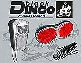 BDCP Fahrrad Nabendynamo Beleuchtungsset 8, LED-Scheinwerfer 35 Lux, Gepäckträger Rücklicht, Kabel