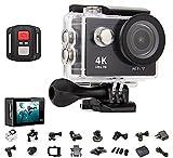 4K Ultra HD 4096p Action Cam WiFi digital Kamera Sport DV Camcorder Wasserdicht WiFi Full HD DV Auto HDMI Wasserdicht Fernbedienung 170° Weitwinkellinse Full 1080P WiFi HDMI camcorder für Helm, Tauchen, Radfahren und Extremsport