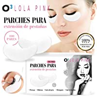 O³ Eye Gel Pads – Parches Extensiones de Pestañas 100 Pares Sin Pelusa Lola Pink | Parches Ojeras De Hidrogel.