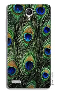 Peacock Feather Case for Redmi Note 4G