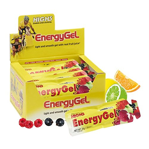 Gel-glatter (High5 Energy Gel Citrus Burst (Box of 20), 1er Pack (1 x 800 g))