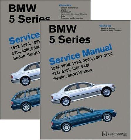 Bmw 5 Series (E39): Service Manual : 1997, 1998, 1999,