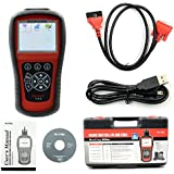 MaxiDiag Elite MD802 For 4 System With Datastream Model Engine,Transmission,ABS and Airbag Code Scanner (MD701+MD702+MD703+MD704) updated by internet