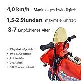 Goods & Gadgets Kindermotorrad mit Akku - 3