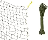 Trixie 44295 Schutznetz, drahtverstärkt 8 × 3 m, oliv-grün