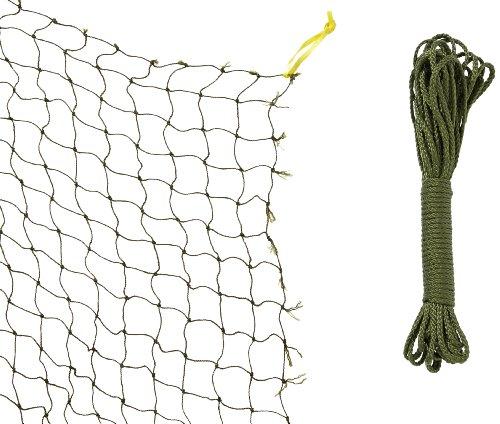 Trixie 44295 Schutznetz, drahtverstärkt 8 × 3 m, oliv-grün -