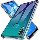 K&L LK Hülle für Huawei Y7 2019, Ultra Schlank Dünn TPU Gel Gummi Weiche Haut Silikon Schutzhülle Abdeckung Case Cover für Huawei Y7 2019 (Transparent)