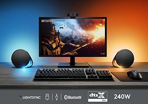 Logitech g560 pc gaming rgb altoparlanti con dts x ultra surround
