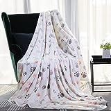 Allisandro® Premium Soft and Warm Dog Blanket, FluffyDurable Fleece Cat Puppy Throw for Small Medium Large Pet