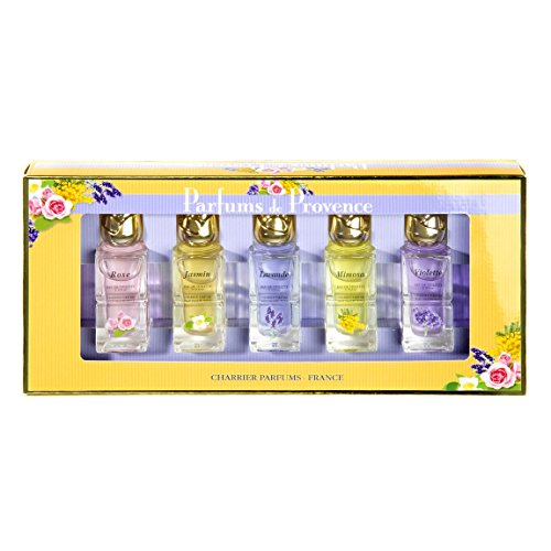 Charrier Parfums - Coffret 5 Eaux de Toilette Charrier 'Parfums de Provence' 54ml