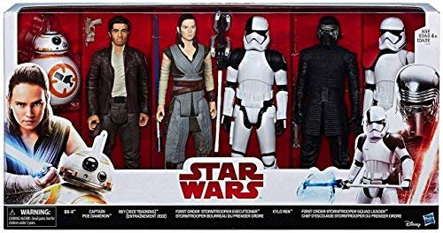 Star Wars The Last Jedi 6 Pack Figure