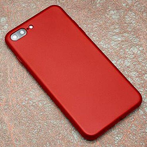 iphone 7 Matt Hülle,iphone 7 Matt Hülle,SUNAVY 2017 Neu Elegant Anti-stoß Ultradünne Tasche Schale Case für Apple7,Inklusive ein Geschenk Gehärtetem Displayschutzfolie für Apple7,4.7zoll,RoseGold Rot