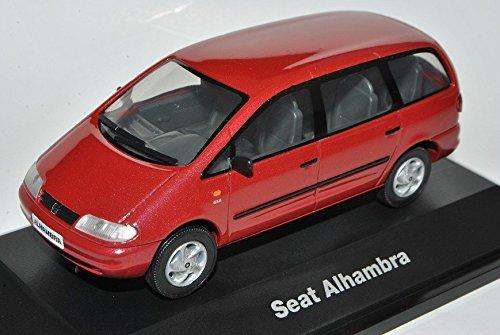 Preisvergleich Produktbild Seat Alhambra I Baugleich Sharan I VAN Rot 1995-2010 1/43 Herpa Modell Auto