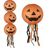 VENI MASEE calabaza Linternas de papel fiesta de Halloween Decoración 6Pcs