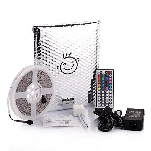 Simfonio LED Streifen 10m 300 LEDs 5050 SMD Led Strip Full Kit