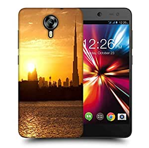 Snoogg Sunset In Dubai Printed Protective Phone Back Case Cover For Micromax Canvas Nitro 4G