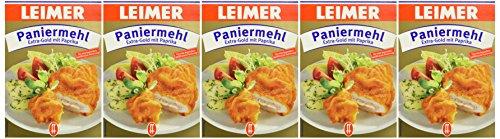 Leimer Paniermehl Extra-Gold, 5er Pack (5 x 400 g)
