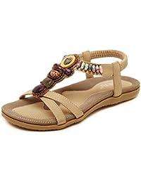 KUKI Flache Schuhe mit großen Sandalen der Frauen römischen Stil Mode Sandalen , 2 , US7.5 / EU38 / UK5.5 / CN38