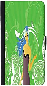 Snoogg Abstract Illustrationdesigner Protective Flip Case Cover For Htc M7