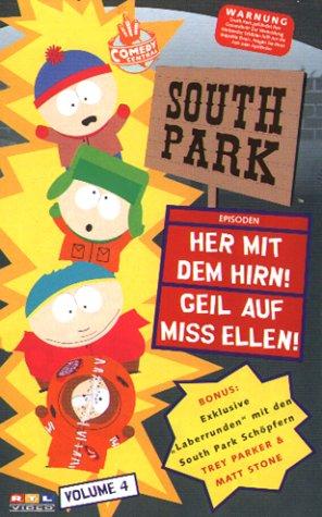 South Park 04: Her mit dem Hirn / Geil auf Miss Ellen [VHS]