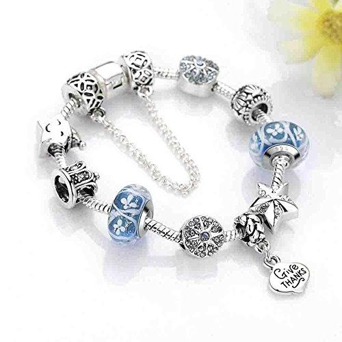 LXIANGP Armband Dame Armband Damen Legierung Hand Ring Intarsien Juwel Hand Ring Länge 20cm Dicke 0,3 cm