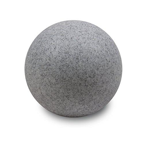 insatech Leuchtkugel PLANET granit Dekoleuchte Gartenkugel Kugelleuchte in 2 Größen 350mm