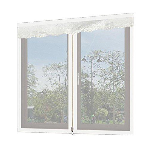 4-panel-dekorative Bildschirm (Zipper Anti - Moskitonetze Bildschirme Bildschirme Netz Vorhang Anti - Moskito Sieb Netz Sand Fenster Netz magnetisch unsichtbare Vorhänge Bildschirme Netzwerk , 4 , 90x150cm)