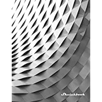 """Sketchbook: 300 Pages 8.5"""" X 11"""" Sketch Book with Large Blank Graph Paper and Blank White Paper, Sketching, Drawing and Record Creative Ideas, Notebook to Draw and Journal"""