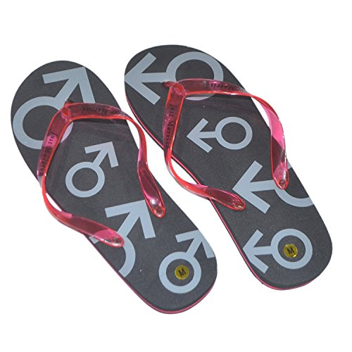 mens-large-black-red-just-married-flip-flops-size-11-13-x42
