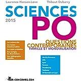 Sciences Po : Questions contemporaines 2015 : mondialisation et famille