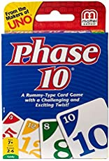 Mattell UNO Card Game Pack of 2 (Phase 10)
