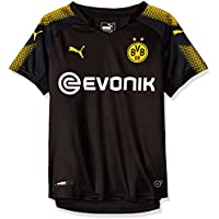 Puma Jungen BVB Kids Away Replica Shirt with Sponsor Logo T