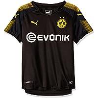 Puma Jungen Bvb Kids Away Replica Shirt with Sponsor Logo T-Shirt