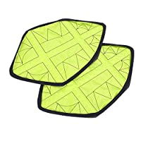 aiyinhuofen Novelty Hands-free Reusable Fast Automatic Shoes Covers for Sneakers/Trainers/Boots - Dustproof/Skidproof/Waterproof - One Pair for Home Decoration(None green)
