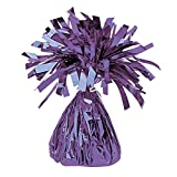 Purple Foil Party Balloon Weight, 170g by Partyrama
