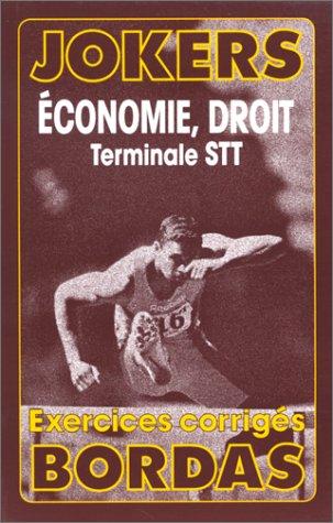JOKE.024 ECON.DROIT STT (Ancienne Edition)