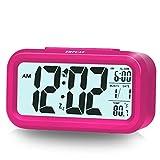 "Best Alarm Clocks For Kids - ZHPUAT 4.6"" Display Digital Alarm Clock for Girls Review"