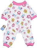 Oshide Pink Horse Dog Pajamas Pet Sleep Clothes Cozy Puppy Shirt Doggy Home Wear, S
