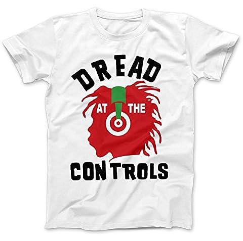Dread At The Controls Worn By Joe Strummer T-Shirt 100% Premium Cotton